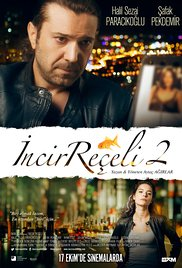 Incir Receli 2 DVD cover with male actor at top, title in middle and female actor at bottom in urban settings at night